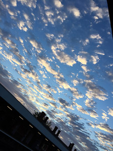 270717 - Dawn Clouds - Tonbridge Station
