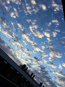 270717 - Dawn Clouds - Tonbridge Station