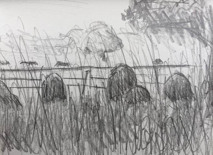 280817 - Gravestones at St Margaret's, West Raynham - Large