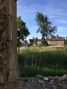 280817 - West Raynham from St Margaret's church - Large