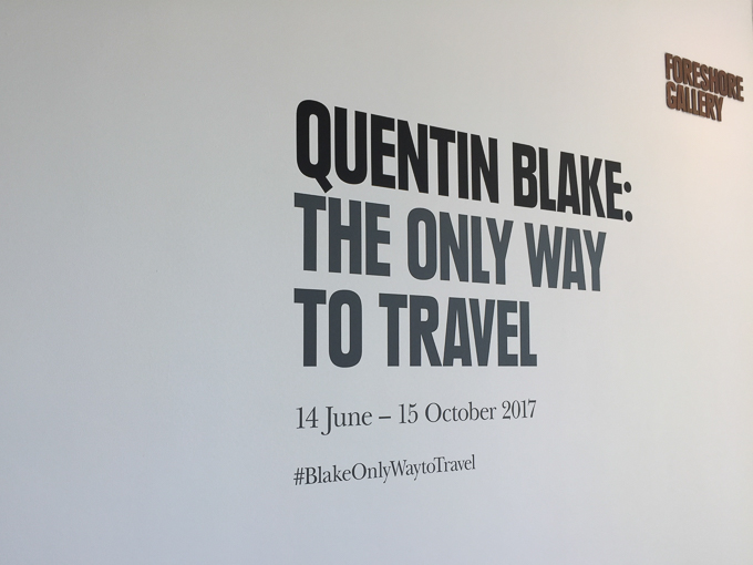 011017 - Quentin Blake - The only way to travel