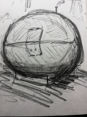 081017 - Exbury Egg Drawing